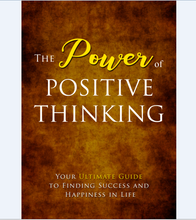 Load image into Gallery viewer, Power of Positive Thinking - Finding Success and Happiness in Life - SelfhelpFitness