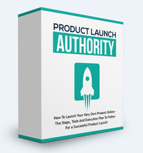 Load image into Gallery viewer, Product Launch Authority - How To Launch Your Very Own Product Online - SelfhelpFitness