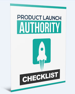 Product Launch Authority - How To Launch Your Very Own Product Online - SelfhelpFitness