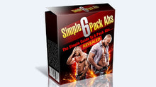 Load image into Gallery viewer, Simple 6 Pack Abs - Simple But Sure Way To 6 Pack Abs - SelfhelpFitness