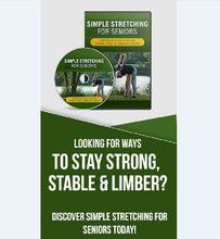 Load image into Gallery viewer, Simple Stretching For Seniors - Stay Strong, Stable & Limber As A Senior! - SelfhelpFitness
