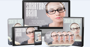 Smarter Brain - Train Your Brain and Increase Your IQ, Focus and Creativity a lot faster - SelfhelpFitness