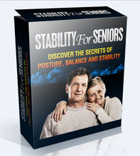 Load image into Gallery viewer, Stability For Seniors - Discover The Secrets To Posture, Balance & Stability - SelfhelpFitness