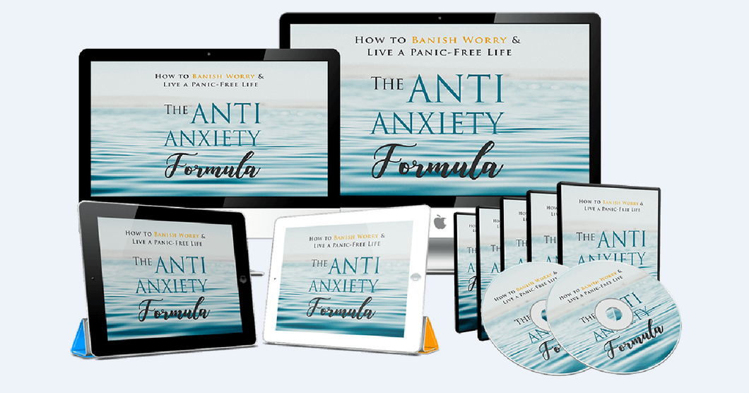 The Anti-Anxiety Formula - The Proven Strategies To Overcome Anxiety - SelfhelpFitness