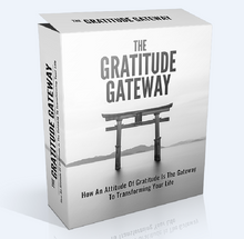 Load image into Gallery viewer, The Gratitude Gateway - How An Attitude Of Gratitude Is The Gateway To Transforming Your Life - SelfhelpFitness