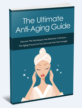 Load image into Gallery viewer, The Ultimate Anti-Aging - Techniques And Methods To Reverse The Aging Process - SelfhelpFitness