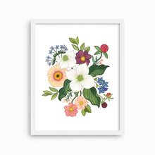 Load image into Gallery viewer, DOGWOOD FLORAL ART PRINT - Linden Paper Co. , Art Prints - Stationery Brand, Linden Paper Co. Linden Paper Co., Linden Paper Co.  Linden Paper Co.