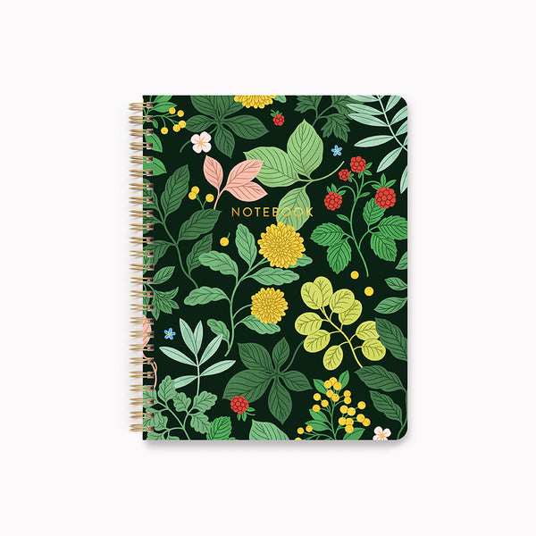 Botanica Spiral Notebook - Linden Paper Co. , Spiral Notebook - Stationery Brand, Linden Paper Co. Linden Paper Co., Linden Paper Co.  Linden Paper Co.