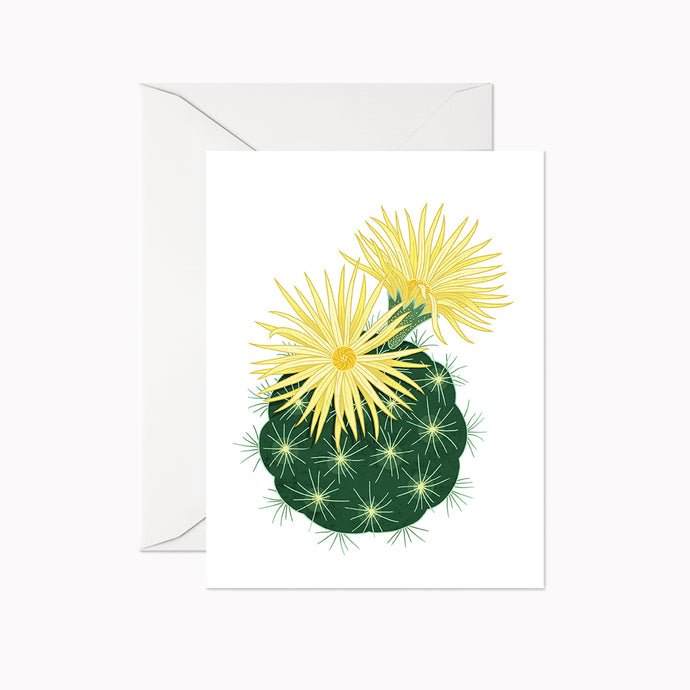 MISSOURI FOXTAIL CACTUS CARD - Linden Paper Co. , Greeting Card - Stationery Brand, Linden Paper Co. Linden Paper Co., Linden Paper Co.  Linden Paper Co.