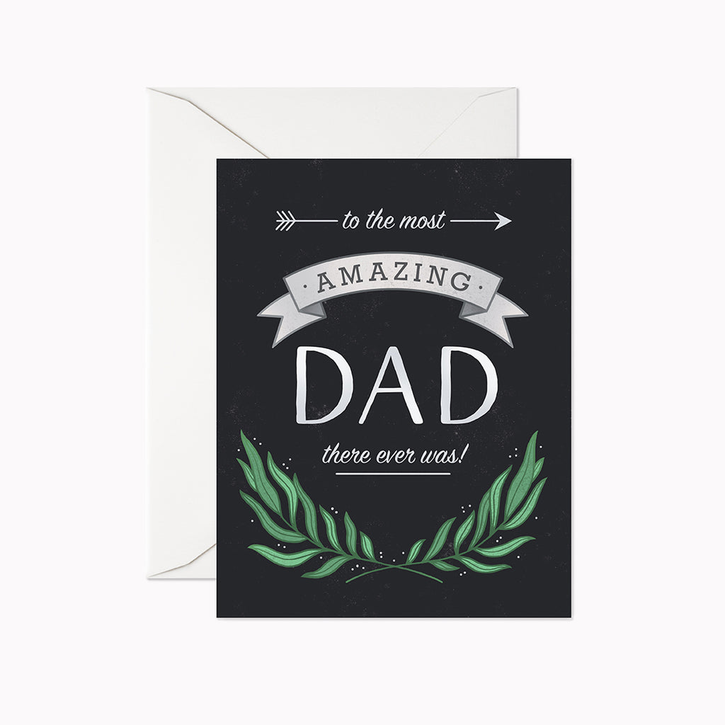 Amazing Dad Card - Linden Paper Co. , Greeting Card - Stationery Brand, Linden Paper Co. Linden Paper Co., Linden Paper Co.  Linden Paper Co.
