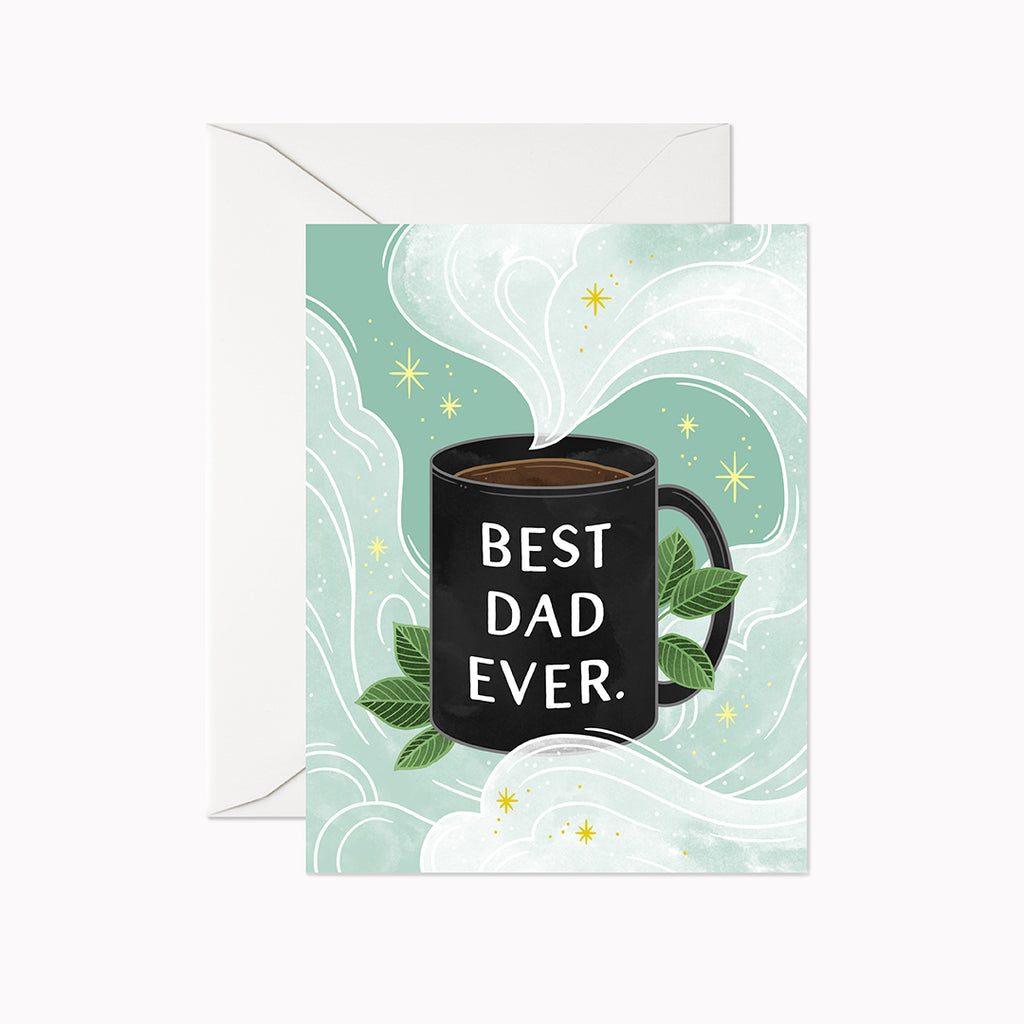 Best Dad Ever Card - Linden Paper Co. , Greeting Card - Stationery Brand, Linden Paper Co. Linden Paper Co., Linden Paper Co.  Linden Paper Co.