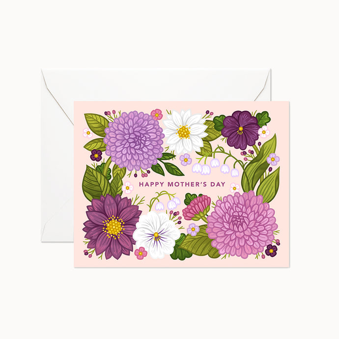 HAPPY MOTHER'S DAY CARD - Linden Paper Co. , Greeting Card - Stationery Brand, Linden Paper Co. Linden Paper Co., Linden Paper Co.  Linden Paper Co.