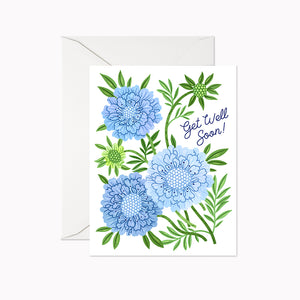GET WELL SOON CARD - Linden Paper Co. , Greeting Card - Stationery Brand, Linden Paper Co. Linden Paper Co., Linden Paper Co.  Linden Paper Co.