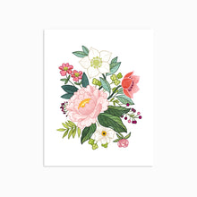 Load image into Gallery viewer, PEONY FLORAL ART PRINT - Linden Paper Co. , Art Prints - Stationery Brand, Linden Paper Co. Linden Paper Co., Linden Paper Co.  Linden Paper Co.
