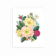 Load image into Gallery viewer, POPPY FLORAL ART PRINT - Linden Paper Co. , Art Prints - Stationery Brand, Linden Paper Co. Linden Paper Co., Linden Paper Co.  Linden Paper Co.