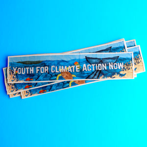 Youth For Climate Action Now -  sticker