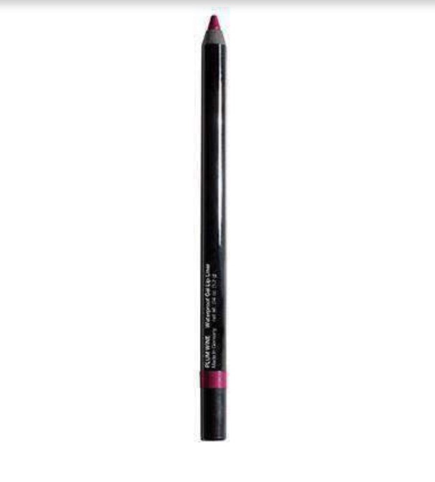 Waterproof Gel Lip Liner Plum Wine