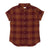 Bridge & Burn Bea Burgundy Plaid