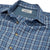 Grayers Benton Slub Twill Long Sleeve - Navy Blue Plaid