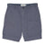 Grayers Bermuda Cotton Linen Stretch Shorts Grisaille