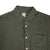 Kato Slim French Seam Brushed Dot Green Shirt