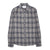 Corridor Grey Check Flannel Long Sleeve