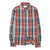 Corridor Blanket Plaid Long Sleeve Winter Red