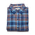 Normal Brand Boone Heavy Brushed Twill Blue Plaid