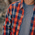 Normal Brand Boone Heavy Brushed Twill Orange Plaid
