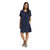 Grayers Priscilla Cocoon Dress Navy