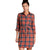 Toad & Co Re-Form Flannel Shirtdress Auburn