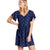 Toad & Co Hillrose SS Dress True Navy Geo Motif