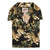 Naked & Famous Aloha Shirt Japanese Tigers Black