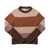 Bridge & Burn Myrtle Rust Stripe Sweater