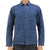 Kato Vise Blue Recycled Cotton Chore Jacket