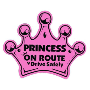 Child on Route – Princess Crown – Pink