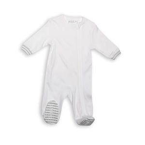 Juddlies Sleeper White and Grey – 3-6m