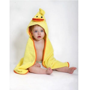Zoocchini – Baby Towel – Puddles the Duck