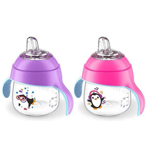 Philips Avent – My Little Sippy Cup 7oz -2pk Pink/Purple