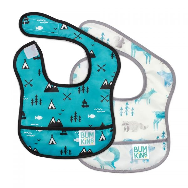 Bumkins – Starter Bib 2PK – Outdoor, Nature