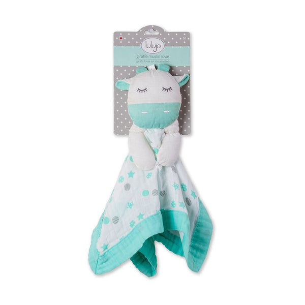 Lulujo – Lovie Green Giraffe