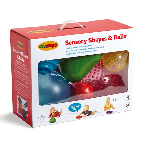 Edushape – Sensory Shapes & Balls set – 9pcs