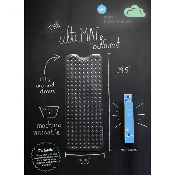 Mint Marshmallow Ultimate Bathmat