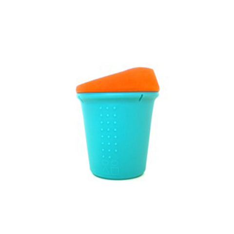 8oz To-Go cup - Sea/Orange