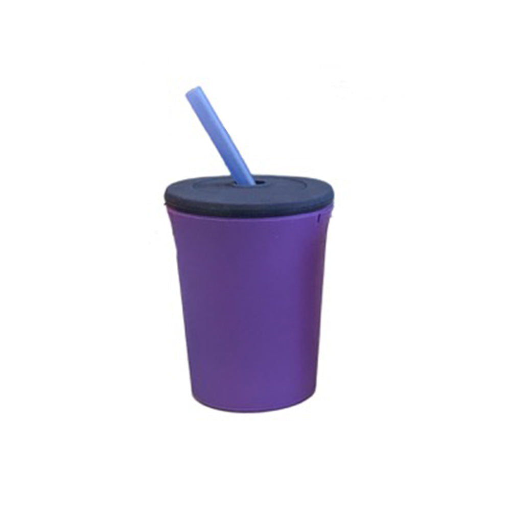 12oz Straw Cup - Purple