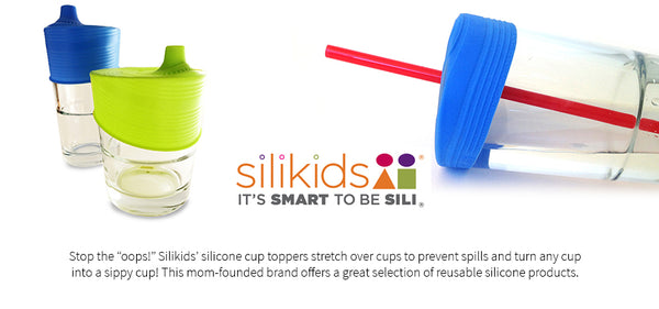 Silicone Family of Straws 6pk