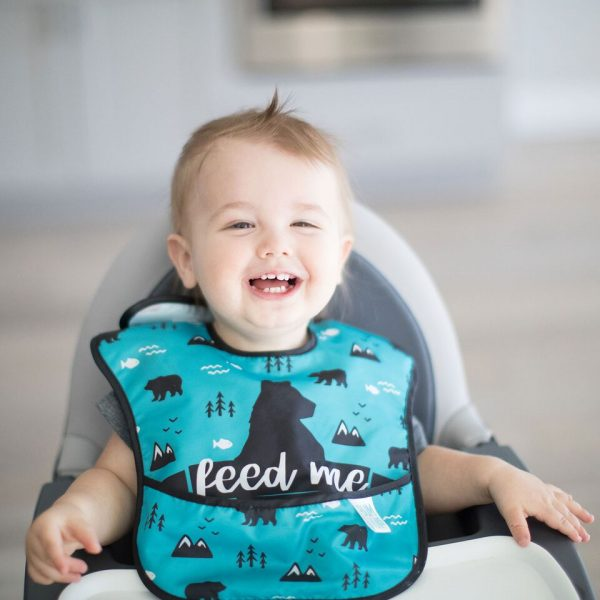 Bumkins – SuperBib 3PK– Feed Me, Nature & Outdoors
