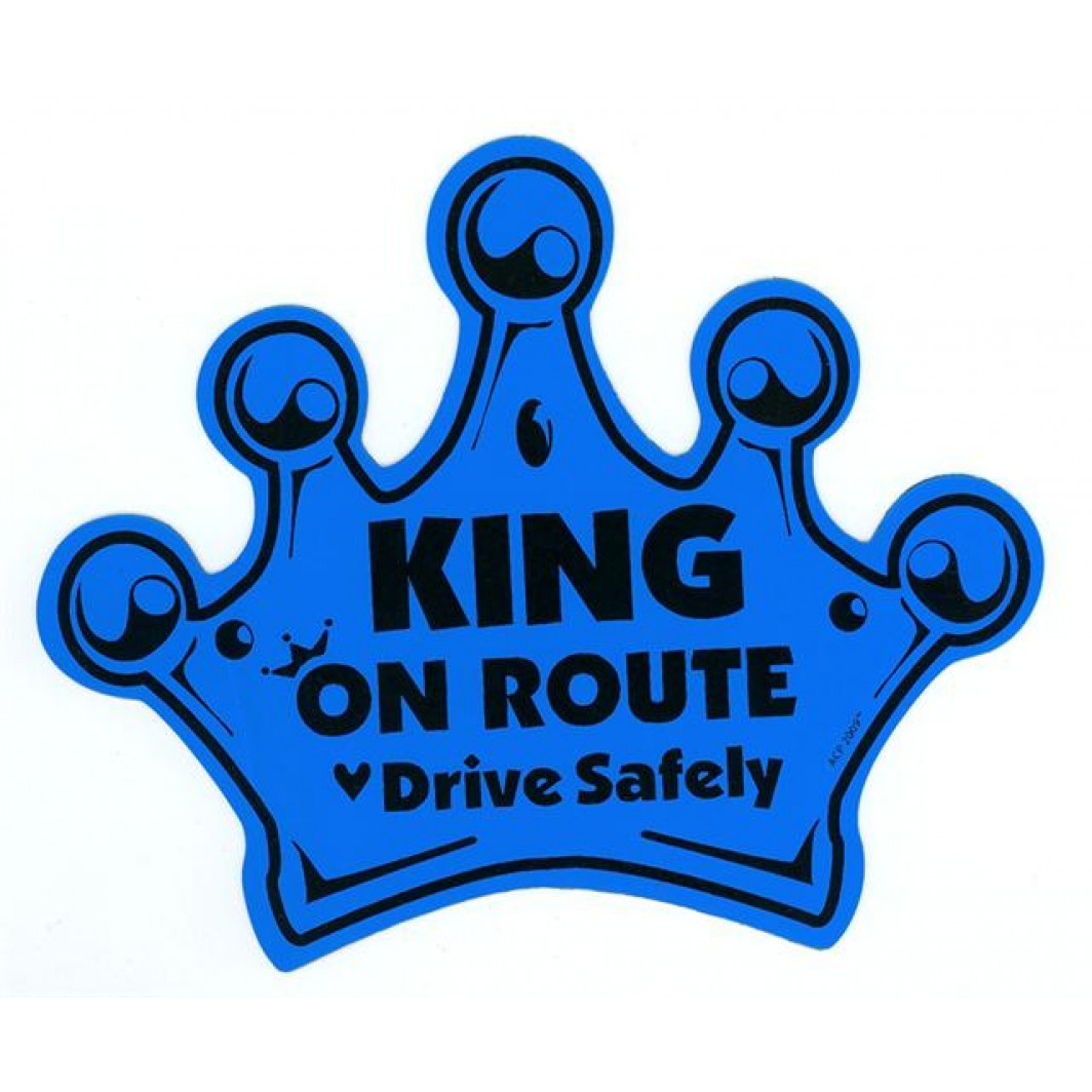 Child on Route – King Crown – Blue