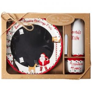 Child to Cherish – Santa's Message Plate Set