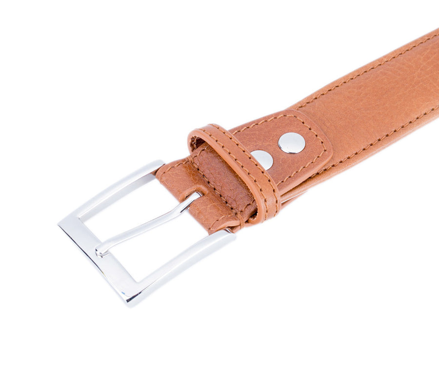 Cognac Tango (Italian Leather Belt)
